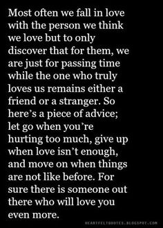 Heartfelt Quotes: Most often we fall in love with the person we think we love. Fast Quotes, True Quotes, Honest Quotes, Dating Quotes, Relationship Quotes, Relationships, Relationship Problems, We Fall In Love, Wise Words