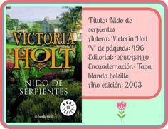 "Ficha ""Nido de serpientes"", de Victoria Holt"