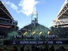 700,000 12s lined the streets of Seattle with the Celebration ending @CenturyLink Field! #Celebrate48