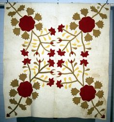 Rose of Sharon variation  1866  West Virginia