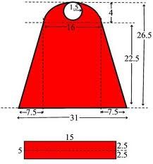 super hero cape pattern: use as a reference and modify to make as my own!