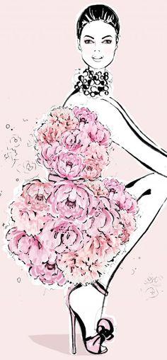 Megan Hess-dancing in bloom