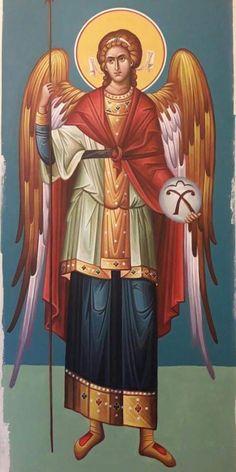 Archangel Gabriel, Archangel Michael, Byzantine Icons, Byzantine Art, 4 Archangels, Angel Protector, Paint Icon, Jesus Christ Images, Saint Nicholas