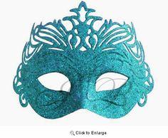 Turquoise Fancy Mask