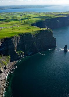 The Cliffs of Moher, Ireland - absolutely can't wait to go and see this for myself!