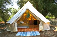 Super canvas camp tents for glamping on eBay! http://accordingtobrian.com/canvas_glamping_tents?=bigtents