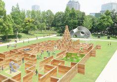東京ミッドタウンの芝生広場 - Google 検索