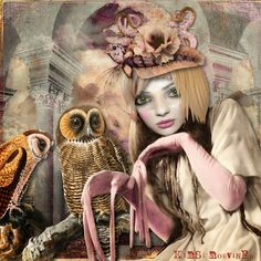 Digital collage by Kirsi Rouvinen #mixed #media