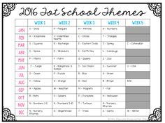 Getting Started with Tot School: Tips and ideas for how to get organized along with free printable calendars and plans!