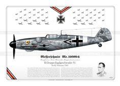 Me.109G-6 Rammelt Luftwaffe JP-598