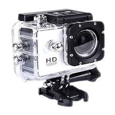 SJ4000 Digital Sport Video Camera Waterproof with 12.0MP CMOS 1080P Full HD DVR DV Color White