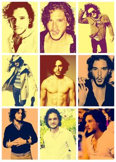 just expressing my love for Kit Harrington in Game of Thrones.