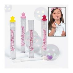 Oriental Trading Company 24 Princess Star Bubbles - Party Favors and Bubbles Favors and Favor Kits - product summary - Bing Shopping