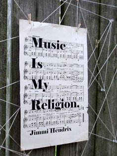 Vintage Sheet Music Print, Classic Quote on Vintage Sheet Music, Jimi Hendrix Quote, Old Music, Musical Quote - Vintage Quotes Vintage Sheet Music, Vintage Sheets, Jimi Hendrix Quotes, Classic Quotes, Vintage Quotes, Old Music, Classical Music, Music Quotes, Quotations