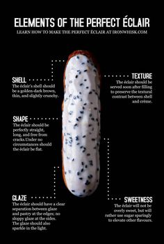 Perfecting the French Éclair: A 4000+ Word Tutorial That Covers Every Little Detail @ironwhisk