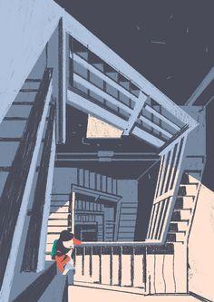 Creative Work by Italian illustrator, Matteo Berton