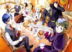 Wild Arms Alter Code: F Artwork Tea & Sweets