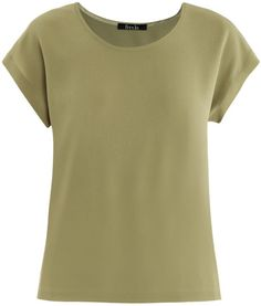 silk tops women sale   Freda Caris Silk Top in Green (kiwi) - Lyst Pair with darker green skirt and sandals for relaxed evening with friends. Dress up with silver chains or scarf in subdues yellows.