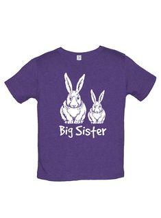 Sunshine Mountain Tees Boys Easter Bunny Pair Shirt