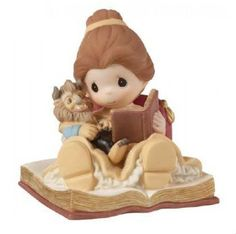 Disney Belle Precious Moments Reading to Beast Happily Ever After New in Box