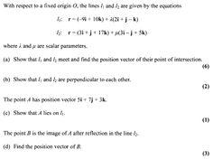 The maths question