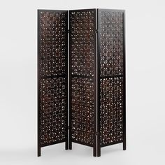 We discovered the extraordinary Woven Cebu Screen during our travels to the Philippines. We simply fell in love with this intricate design that instantly enhances the look of any room. Made from bamboo slats with a wood frame and rich mahogany finish, this screen highlights the best artisanal weaving techniques found on its namesake Cebu Island, the furniture-making capital of the Philippines.