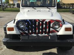 Wavy American JeepGrillz Jeep, Vehicles, Car, American, Automobile, Rolling Stock, Jeeps, Cars, Autos