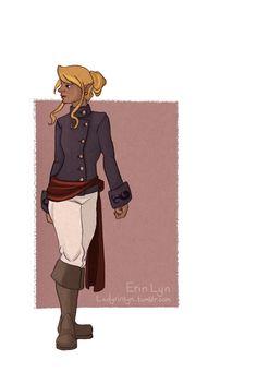 Tetra-pirate version of princess zelda from windwaker reimagined