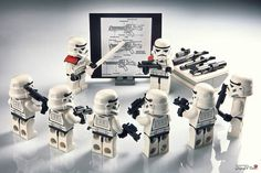 Star Wars Lego Photography.