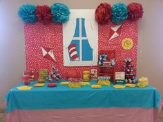 Dr. Suess party .... whew lots of work but sure is cute!
