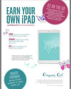 I'm looking for 3 fabulous people that want to have fun, party for a living, be a force for good and make extra money, maybe its not you, but maybe its someone you know! Sharing is caring <3 Designer #10964680 sharonsizemore.origamiowl.com