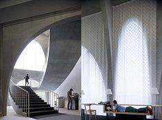 Tama Art Library Interior Staircase