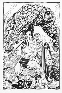 Superman vs. The Fantastic Four - John Byrne