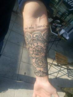Half sleeve #tattoo #tattoo_sleeves