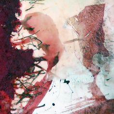 Bildausschnitt eines großformatigen Bilds auf Leinwand Abstract, Artwork, Painting, Snow White Pictures, Creative, Summary, Work Of Art, Auguste Rodin Artwork, Painting Art