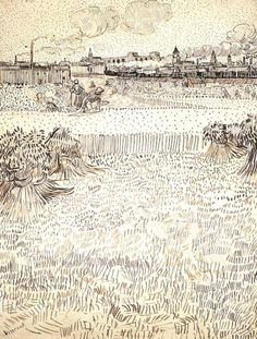 ART & ARTISTS: Vincent van Gogh drawings - part 5