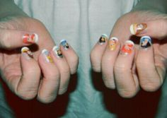 disney princess nails. 2 of my favorite things in 1. dont judge