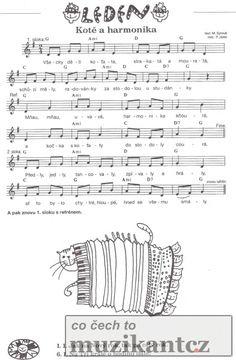 písničky pro děti noty - Hledat Googlem