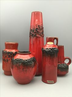 Kreutz Fat Lava collection. MCM. WGP Ceramics.