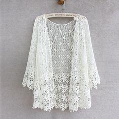 Plus Size Button Front Lace Cardigan   Penningtons   Buy This Now ...