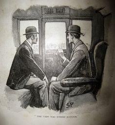 Sherlock Holmes and John Watson - Sidney Paget Book Illustration 6148 by Brechtbug, via Flickr