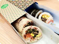 Make your own sushi & salad creations at Maki-san | Nookmag