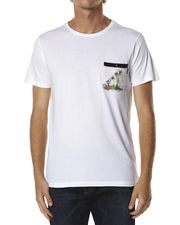 RIP CURL CRAFTER POCKET TEE - WHITE on http://www.surfstitch.com