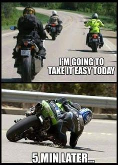Who cares let s ride motorrder driving lets motorrder si best motorrad amp cares driving lets motorrad motorrder ride Really Funny Memes, Haha Funny, Funny Jokes, Harley Davidson, Motocross Funny, Dirtbike Memes, Motocross Quotes, Moto Logo, Dirt Bike Quotes