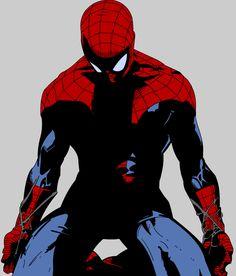 """Spiderman"" by SoundOfSilence Comic Book Characters, Comic Character, Comic Books Art, Comic Art, Marvel Comics, Marvel Art, Marvel Heroes, All Spiderman, Amazing Spiderman"