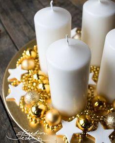 Vánoční perníčky recept a zdobení - Kreativní Techniky Christmas Wreaths, Christmas Crafts, Christmas Decorations, Pillar Candles, Advent, Diy Crafts, Diy Decoration, Go To Sleep, Diy Decorating