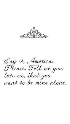 Be mine alone<3