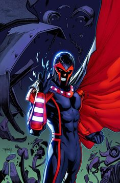 Magneto Has Something Up His Sleeve For Secret Empire. Hopefully Not A Swastika Arm Band.