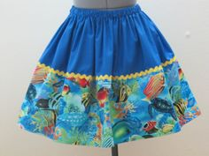 Limited Edition  Fishy under the sea and Turtles by AquamarCouture, $43.00