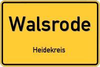 Ortsschild von Walsrode